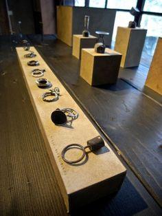 Display for rings | Liisa Hashimoto jewelry