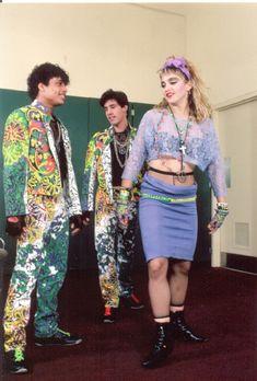 Madonna 1980s Like A Virgin Tour