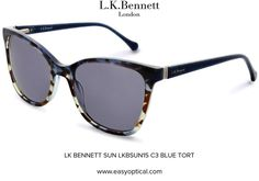 LK BENNETT SUN LKBSUN15 C3 BLUE TORT Lk Bennett, Bond Street, Eyewear, Sun, London, Luxury, Stylish, Design, Fashion