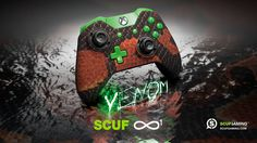 The SCUF Venom Infinity1 for Xbox One. Personalized Design and Function, Scuf Gaming creates handcrafted, professional controllers, and high-end gaming accessories for PC and Console. Tactical Gear for Elite Gamers.