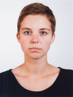 Thomas Ruff, Portrait (Isabelle Graw)