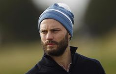 Jamie today at Carnoustie #dunhilllinks #golf #actor #thefall #fiftyshades #jamiedornan