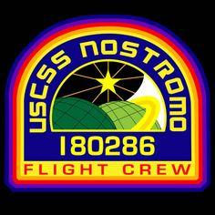 Weyland Yutani USCSS Nostromo flight patch from Alien.