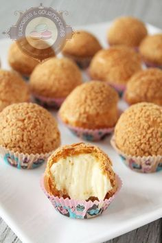 Trendy Ideas for cupcakes rezepte creme Sweet Recipes, Cake Recipes, Dessert Recipes, Cooking Chef, Cooking Recipes, French Pastries, Sweet Tooth, Sweet Treats, Food And Drink