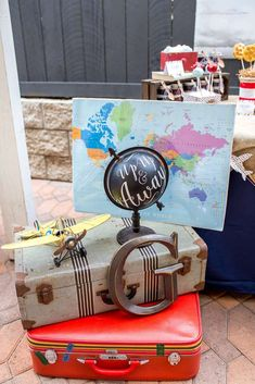 Vintage Airplane Birthday Party Ideas   Photo 1 of 61   Catch My Party