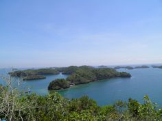 Viewpoint from Governor's Island,  Hundred Islands, Alaminos, Pangasinan