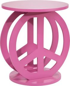 Shop for a Two Peace Pink Accent Table at Rooms To Go Kids. Find that will look great in your home and complement the rest of your furniture. Bedroom Furniture Stores, Kids Room Furniture, Accent Furniture, Interior Decorating Tips, Decorating Your Home, Rooms To Go Kids, Teen Room Makeover, Decorate Lampshade, Teen Girl Bedrooms