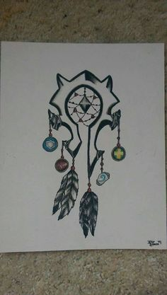 World of Warcraft Horde Dreamcatcher Drawing by TheCeruleanSoul