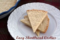 Mommy's Kitchen - Home Cooking and Family Friendly Recipes.: Easy Shortbread Cookies