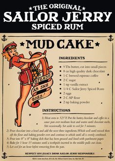 10 recipes made with Sailor Jerry's rum...perfect way to combine cooking and our favorite cheap booze