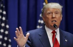 Real estate mogul and TV personality Donald Trump formally announced his campaign for the 2016 Republican presidential nomination Tuesday.