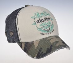 Alaska Chicks Co - Alaska Chicks Logo Trucker Hat - More Color Options , $20.00 (http://www.alaskachicks.com/alaska-chicks-logo-trucker-hat-more-color-options/)