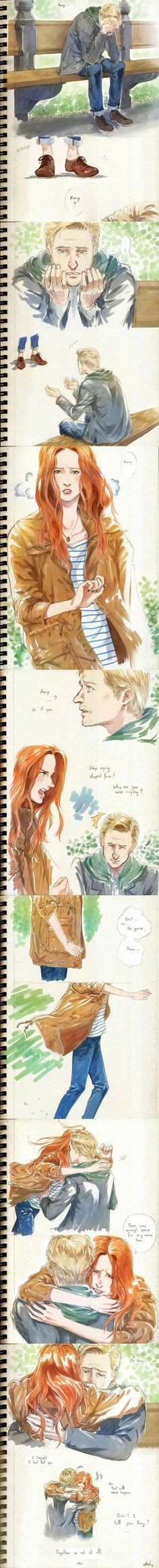 Oh, The Feels!!! My Ponds!!!!! I never thought of them like that until that moment on the roof top.