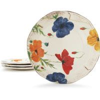 Like the pattern. They also have square plates :)