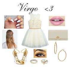 """""""Zodiac Sign-Virgo (PROM EDITION)"""" by katy-nes-cata ❤ liked on Polyvore featuring David Charles, Dolce&Gabbana, Topshop, Bony Levy, Zara, Reiss and Fiebiger"""