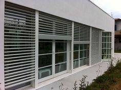 Frangisole in alluminio |legno | Scorrevoli | Orientabili