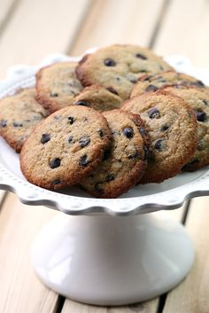 Low Carb Chocolate Chip Cookies plus a Sukrin GIVEAWAY! Soft and buttery cookies that you won't believe are low carb!