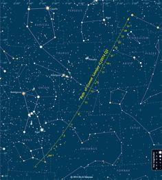 La comète Lovejoy : visible à l'œil nu et qui ne reviendra pas avant 8000 ans