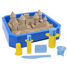 Kit para castillos de arena cin�tica - Kinetic Sand