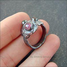 Strukova Elena - the author's jewelry - ring with tourmaline