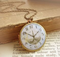 Necklace watch...words can't express how much I love this