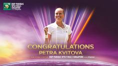 Via WTA: .@Petra_Kvitova 4th to qualify for #WTAFinals! Joins Serena, Sharapova & Halep--> http://wtafnls.com/gudp3k  #WTA #tennis