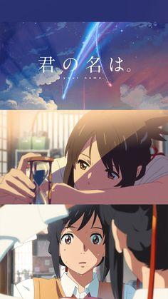 Anime Manga, Anime Guys, Anime Art, Kimi No Kawa, Kimi No Na Wa Wallpaper, Wallpaper Pc, Your Name Anime, Good Anime Series, Studio Ghibli Art