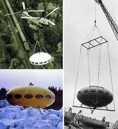 The Futuro House: Space Age UFO Architecture Comes Home