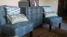 Turqoise living room