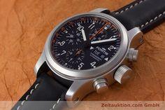 Fortis B-42 Chronograph Stahl Automatik Kal. ETA 7750 Ref. 635.22.141.1