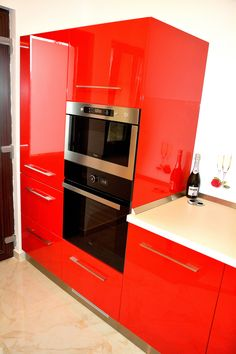 Ferrari, Wall Oven, Kitchen Appliances, Home, Design, Granite Counters, Diy Kitchen Appliances, Home Appliances, Ad Home