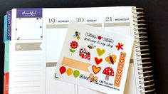 Lil Page, Summer, Bee, ADD ON for orders over 10.00, Fits Erin Condren and others, Plum Planner, Lilly P., Planner Stickers, Scrapbook by LillyTop on Etsy