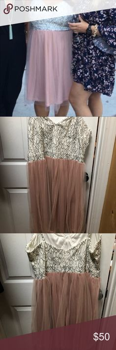 ASOS curve tulle dress ASOS curve tulle dress this is a reposh it's a beautiful dress in perfect condition i just don't have an occasion. To wear ASOS Curve Dresses Midi