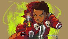 FEATURE: Atlanta-Based Illustrator Marcus Williams' League of 'Young Heroes'