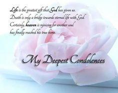 Condolences Messages For Your Sympathy Card  Condolences