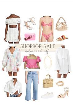 Shopbop sale favorite summer pieces - everything is an extra 25% off! Hello Fashion Blog, Summer Sale, Polyvore, Shopping