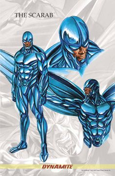 The Scarab by Alex Ross
