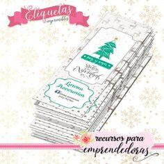 #tarjetitasnavidad #etiquetasnavidad http://www.recursosparaemprendedoras.com.ar/fechas-especiales/