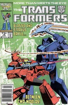 Transformers 18 marvel comic book cover