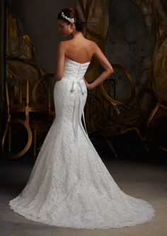 View Dress - Mori Lee Blue SPRING 2013 Collection: 5102 - Elegant Embroidered Lace | MoriLee Bridal | Bridal Shops Toronto Wedding | Evening Dresses Bridal Gowns