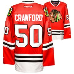 Corey Crawford Chicago Blackhawks Fanatics Authentic Autographed Premier Red Jersey - $279.99