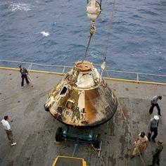 AS-6.15.13-S67-49444 Apollo 4 Apollo Program capsule NASA photo posted on AmericaSpace