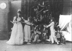 The first performance of The Nutcracker Ballet c.1892