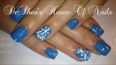 snow flakes by nailedbydeshea from Nail Art Gallery