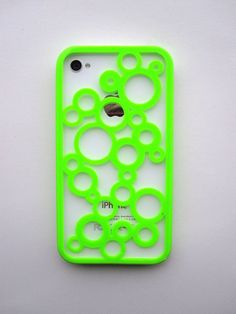 Bubble Cut Out iPhone 4 and 5 3D printed Case by Untimed on Etsy, $17.00