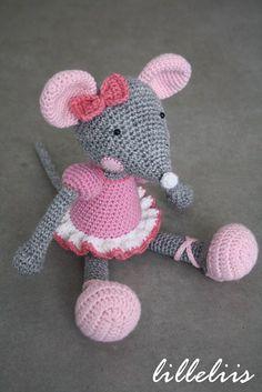 Ballerine-Mouse - Happy Stitches