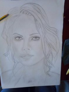 Charlize Theron skech