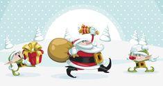 Christmas Vector Art Characters Pack | Conceptual Vectors | Pixeden