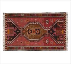 Too small but great otherwise. Rana Kilim Rug | Pottery Barn