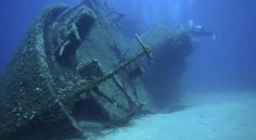Ship Wreckage (Ship on Side)